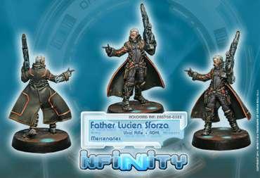 Father Lucien Sforza, Authorized Bounty-Hunter