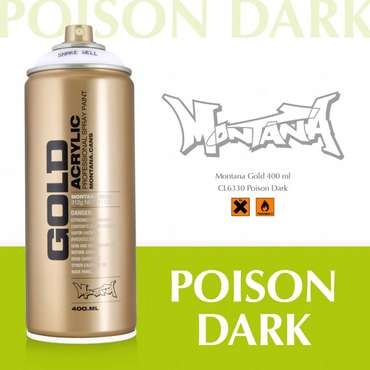 Montana Gold poison dark (CL6330)