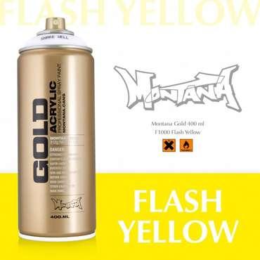 Montana Gold flash yellow (F1000)