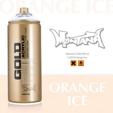 Montana Gold orange ice (2010)