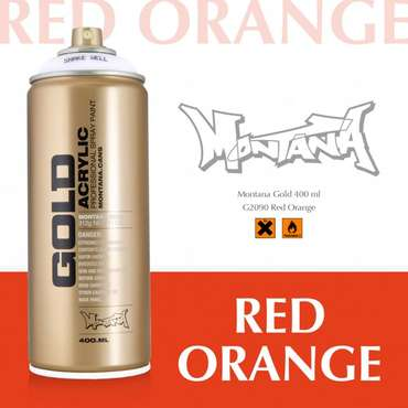 Montana Gold red orange (2090)