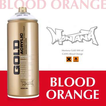 Montana Gold blood orange (2095)