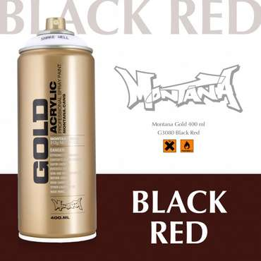 Montana Gold black red (3080)