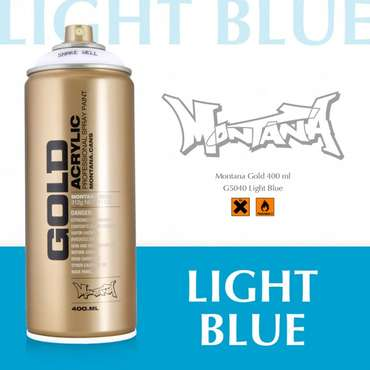 Montana Gold light blue (5040)