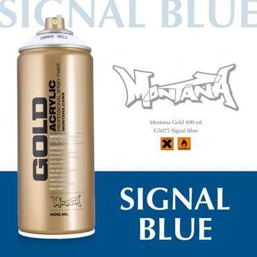 Montana Gold signal blue (5075)