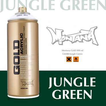 Montana Gold jungle green (6080)