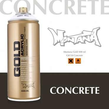 Montana Gold concrete (8150)