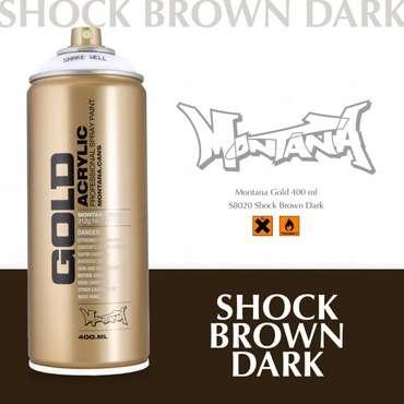 Montana Gold shock brown dark (S8020)