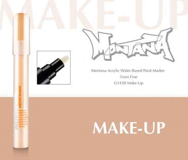 Montana Acrylic Marker 2mm Fine  Make-up