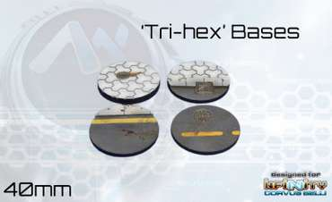 Tri-Hex Base Set 40mm