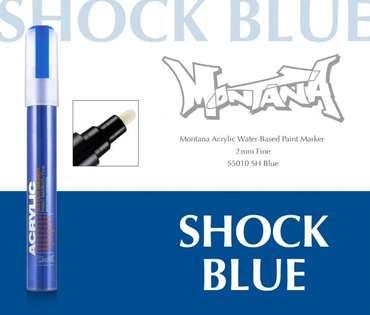 Montana Acrylic Marker 2mm Fine  SH Blue