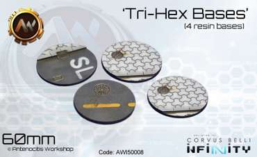 Tri-Hex Base Set 60mm (2nd Ed) (4)