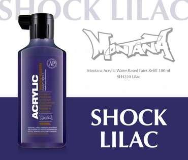 Montana Acrylic Refill 180ml  SH Lilac
