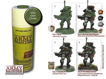 Color Primer, Army Green