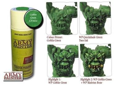 Color Primer, Goblin Green
