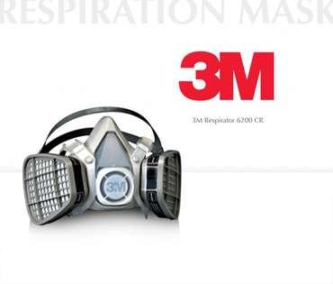 3M Respirationmask 6200