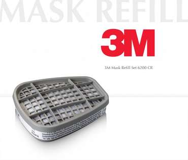 3M Refill 6055-A2P2 for Respirationmask-6200