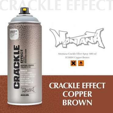 Montana EffectCrackle Copper Brown (EC8004)