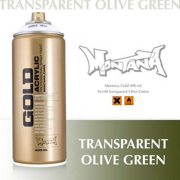 Montana Gold Transparent Olive Green (T6340)