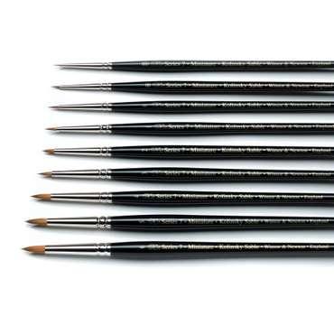 W&N Pinsel Serie 7 Miniatur - Gr. 4