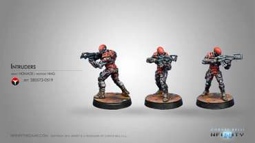 Intruder, Corregidor Assault Commando (HMG NEW)
