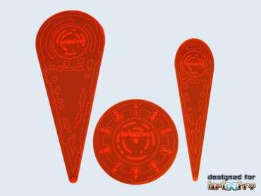 "Infinity Templates ""Orange"" (3) New Design 3RD Edition"