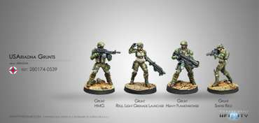 US Ariadna Grunts (Box)