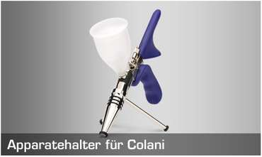 H&S airbrush holder in EVOLUTION design for COLANI