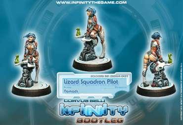 Lizard Squadron Pilot (Bootleg)