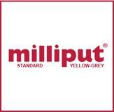 milliput Modelliermasse Standard (ca. 113g)  Yellow - Grey