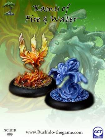 Minor Kami of Fire and Water