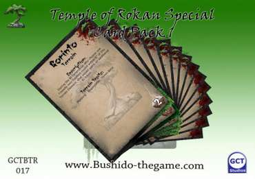 Temple of Rokan Card Pack 1
