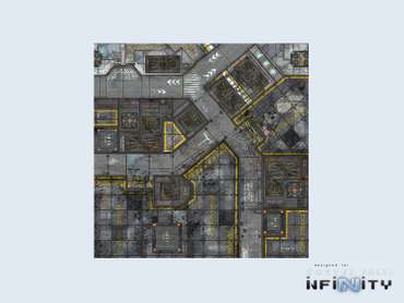 War Game Mat - 48x48inch - District 5 Warehouse