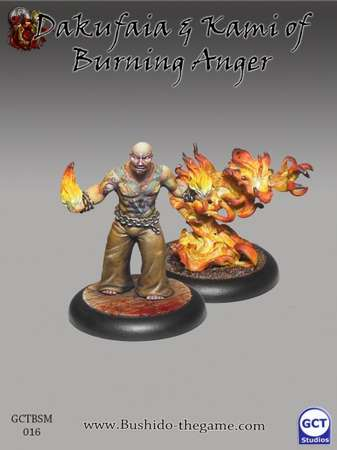 Dakufaia & Kami of Burning Anger