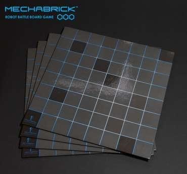 4 X Mechabrick Game Boards (bag) – Bild 1