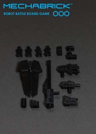 Phase 1 Accessory Set (blister - black) – Bild 1