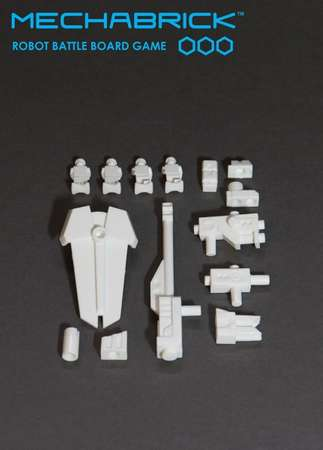 Phase 1 Accessory Set (blister - white)