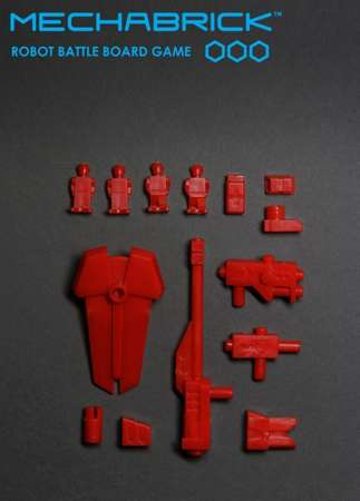Phase 1 Accessory Set (blister - red)