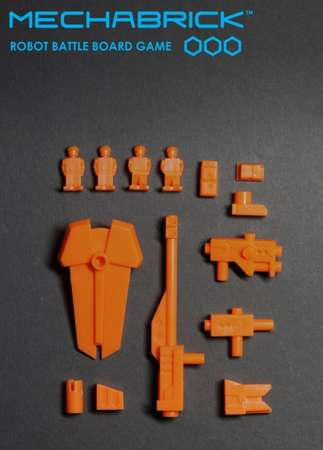 Phase 1 Accessory Set (blister - orange)