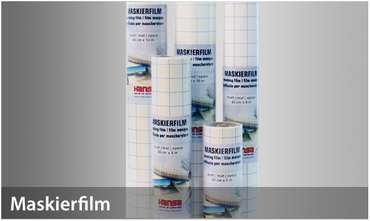 H&S Masking Film 40cm x 4m - mat