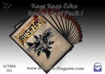 Kage Kaze Zoku Special Card Pack 1