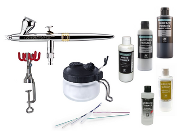 Evolution CR plus 2in1 Airbrush-Set (Laughing Jack Picked)