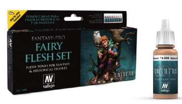 Model Color Set: Fantasy-Pro Fairy Flesh (8 x 17ml)