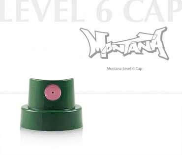 Montana Cap Level 6 Extra Fat (dark green/transparent)