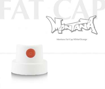 Montana Fat Cap (white/orange)
