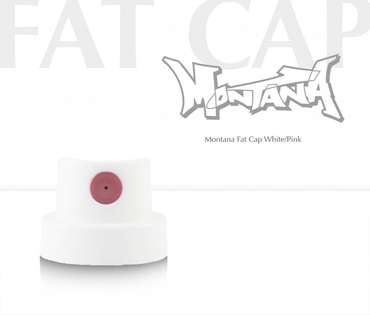 Montana Fat Cap (white/pink)