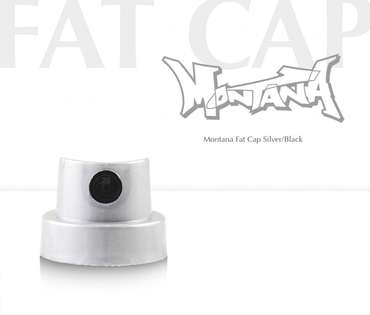 Montana Fat Cap (silver/black)