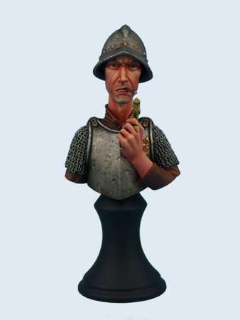 Discworld Vimes Bust UNPAINTED (1)