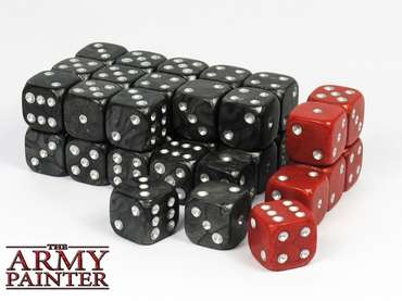 Wargaming Dice: Black (36)