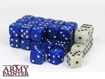 Wargaming Dice: Blue (36)